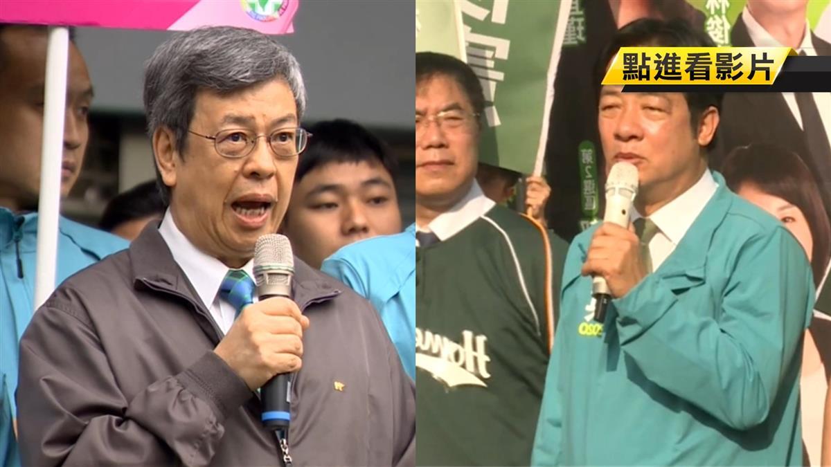 台灣隊副隊長領軍登記 賴回防台南 陳建仁固守台北