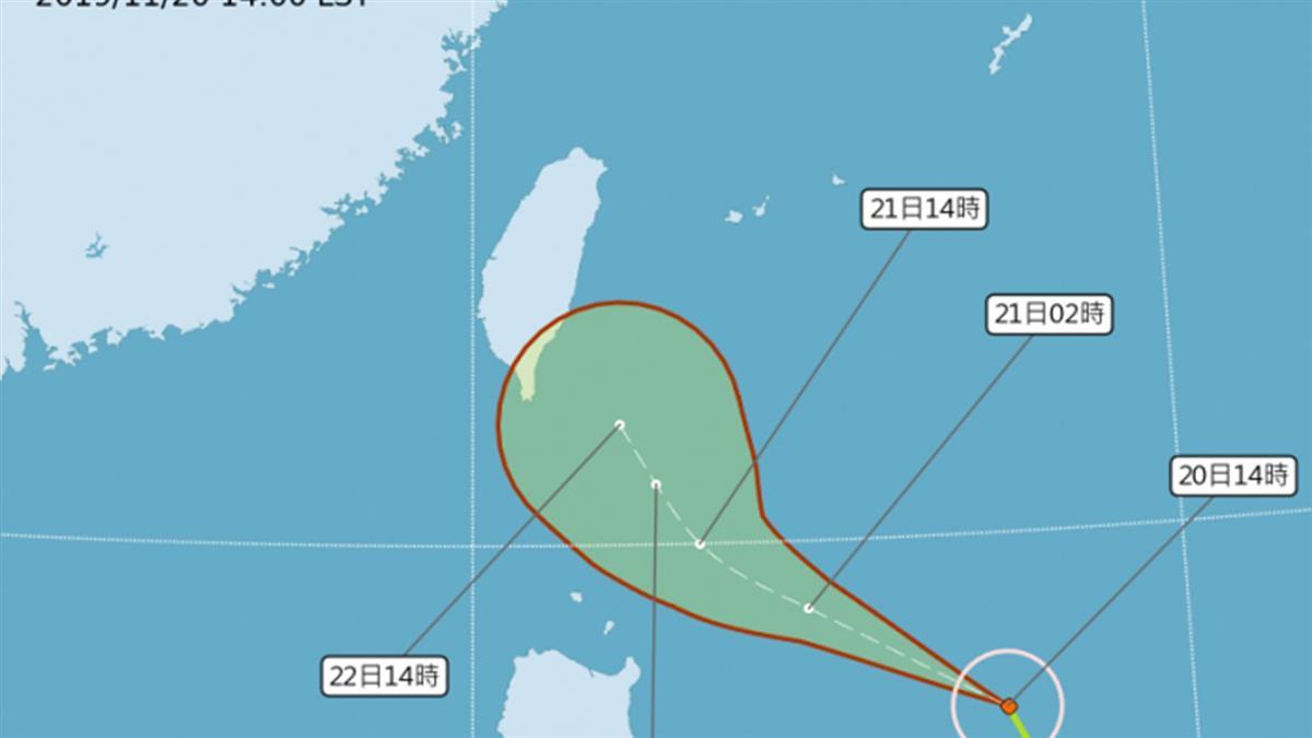 往東直撲?鳳凰颱風最新路徑曝 這天恐發海警