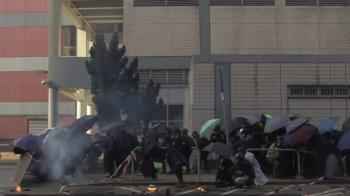 香港示威:BBC深入重組理工大學的「攻防戰」