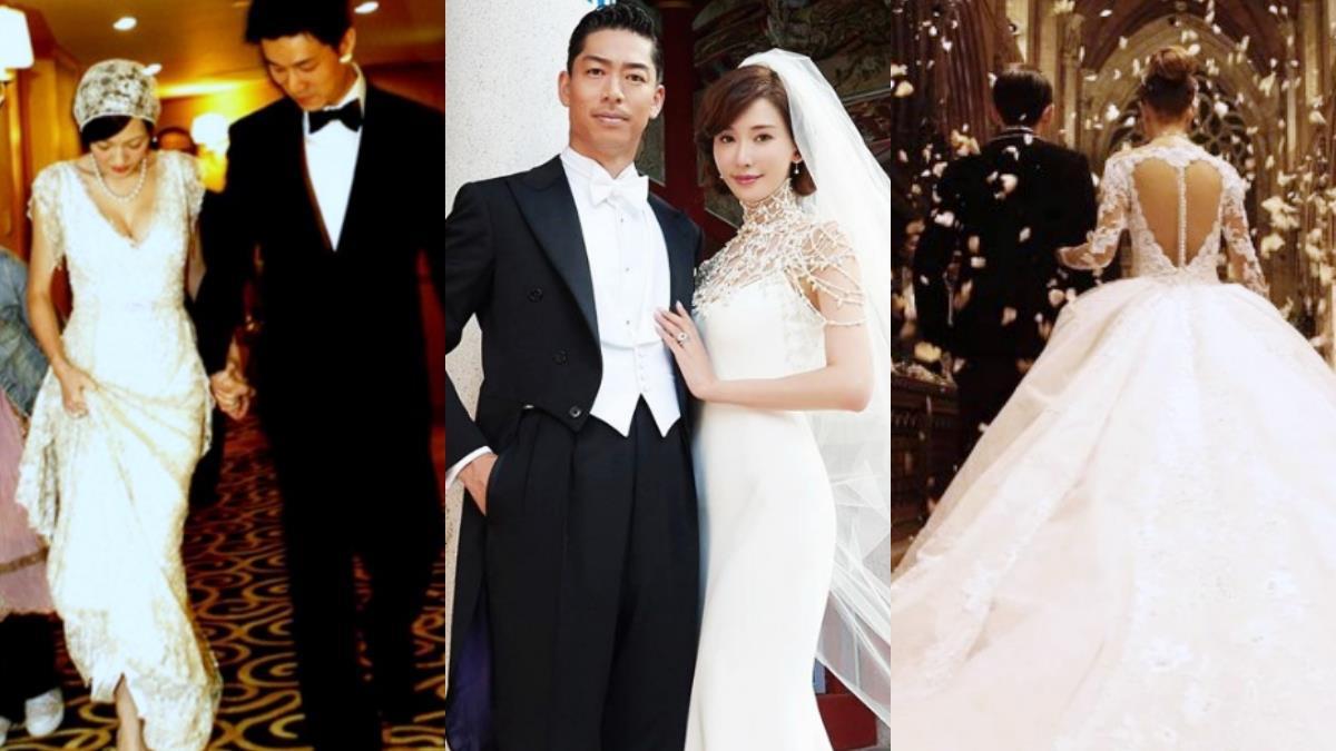 想跟志玲姊姊一樣!女孩夢想的嫁衣都在這 亞洲名人經典婚紗特輯