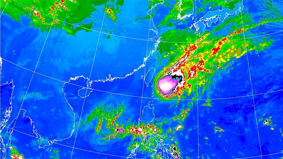 颱風環流來襲!明降雨不停 氣象局曝下到這一天