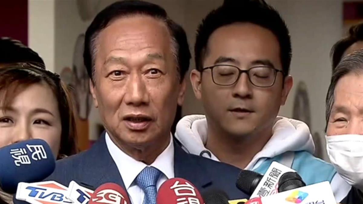 證實見吳敦義 郭董:國民黨立委多選幾席不是壞事