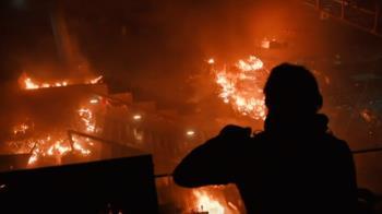 大學淪戰場!香港示威升溫 校園烽火衝突不斷