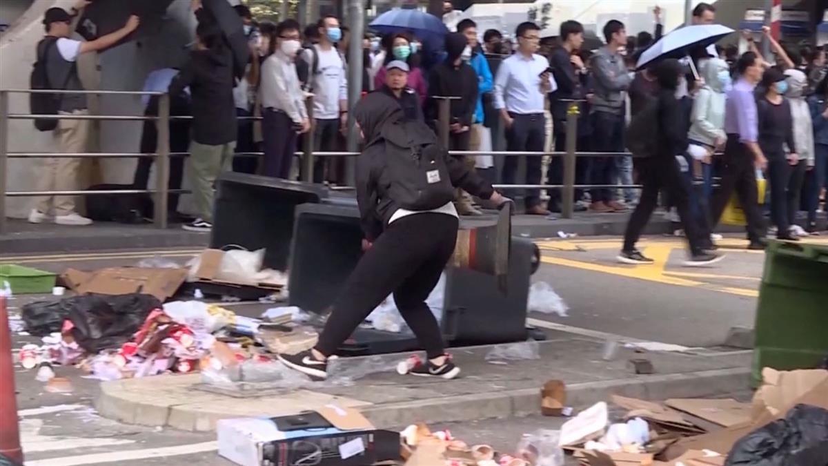 遭港警開槍擊中胸口!示威者切右腎、肝臟保命