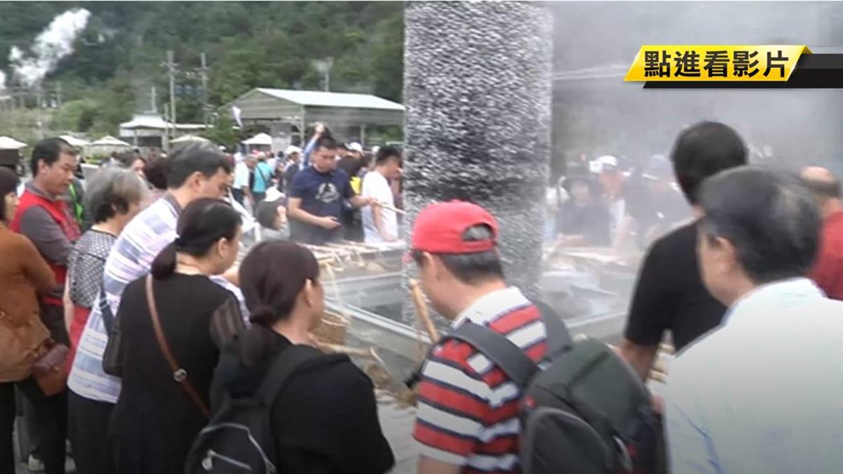 封園16天重開放!清水地熱湧千名遊客