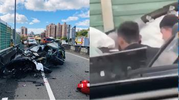 自撞獲救!特斯拉駕駛自己墜橋慘死 警曝可能原因