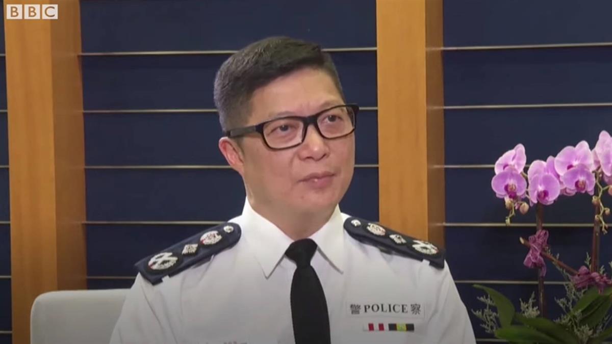香港警務處處長鄧炳強:香港警隊算是世界上其中一支優秀的隊伍
