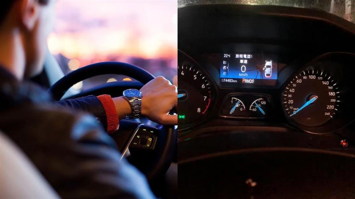 男開車走山路…XX突竄趴儀錶板 網嚇喊棄車