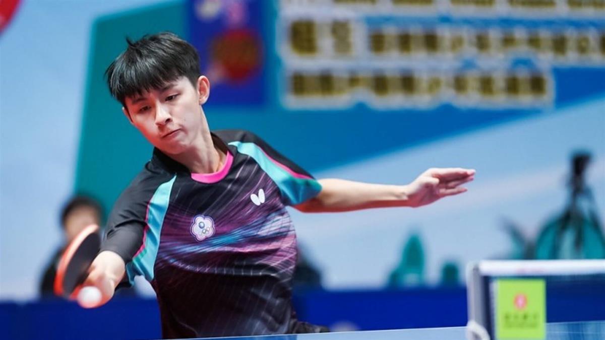 世青桌球男團戰!中華隊摘銀 平隊史最佳