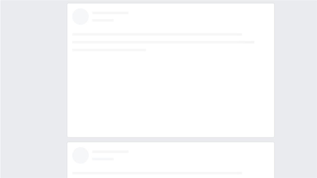 快訊/臉書大當機!頁面一片白 無法貼文