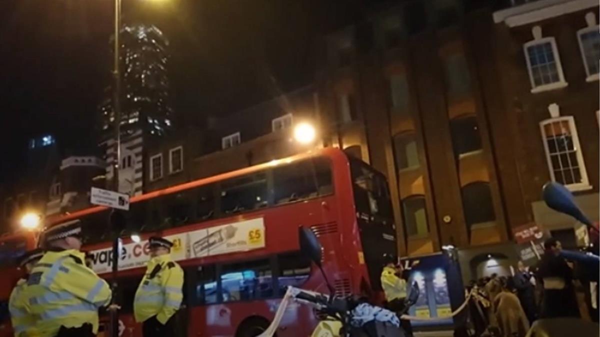 倫敦傳恐攻!2人被刺不治 警擊斃嫌犯