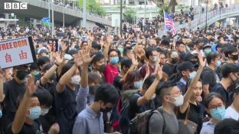 香港示威:BBC貼身追訪 解構示威者的不同角色