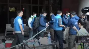 香港示威:警方進入理工大學進行搜證 發現大量汽油彈