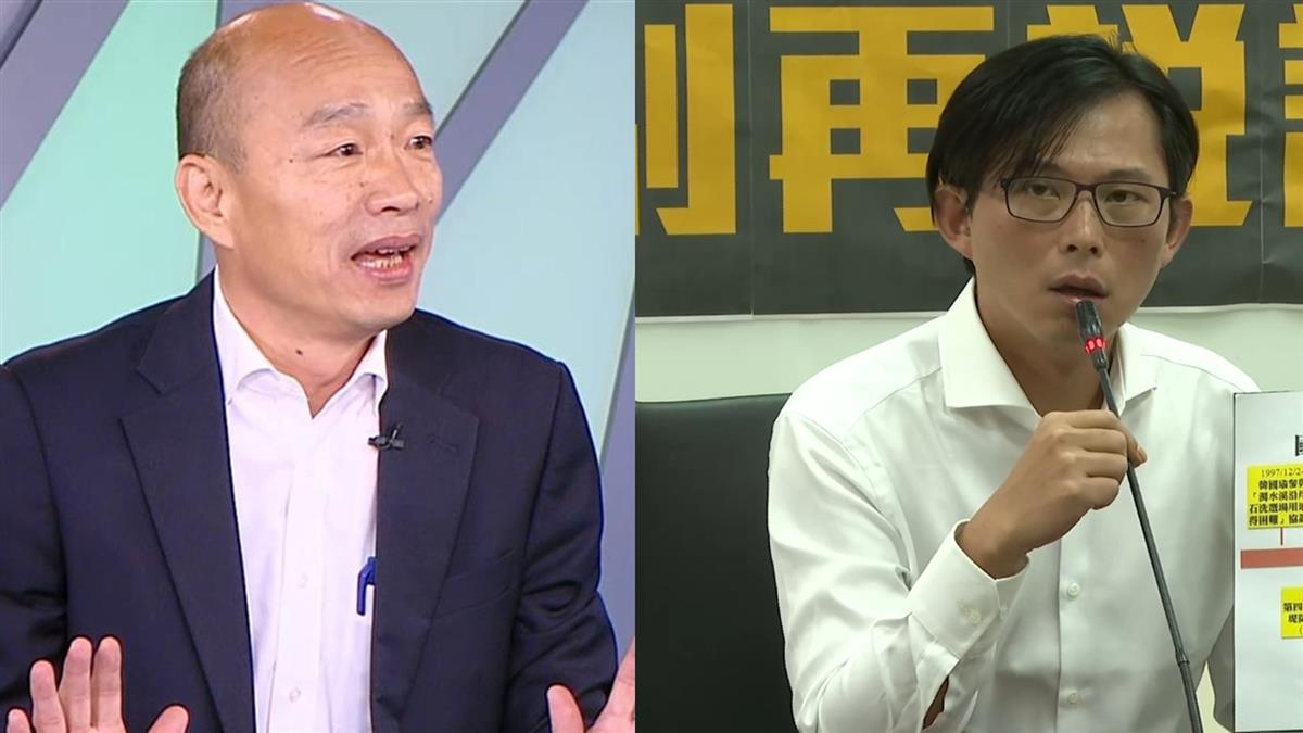 黃國昌控砂石案 韓國瑜反擊:不排除提告