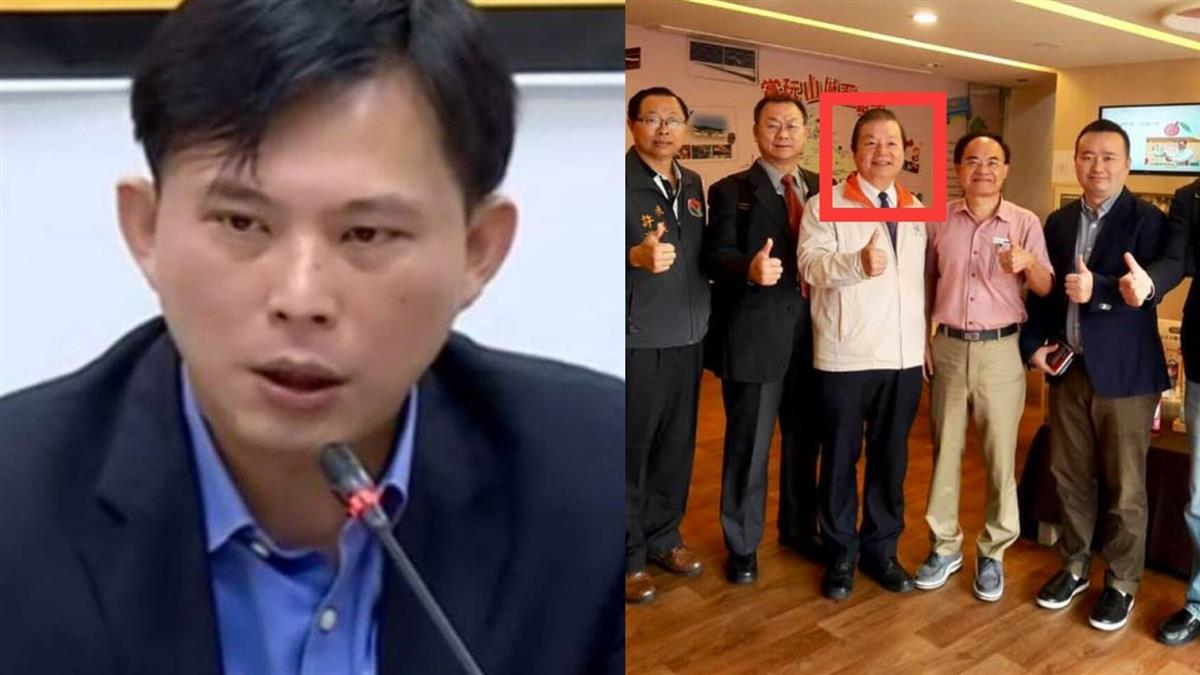 黃國昌控涉貪還趴趴走!前台水董座徐享崑落網