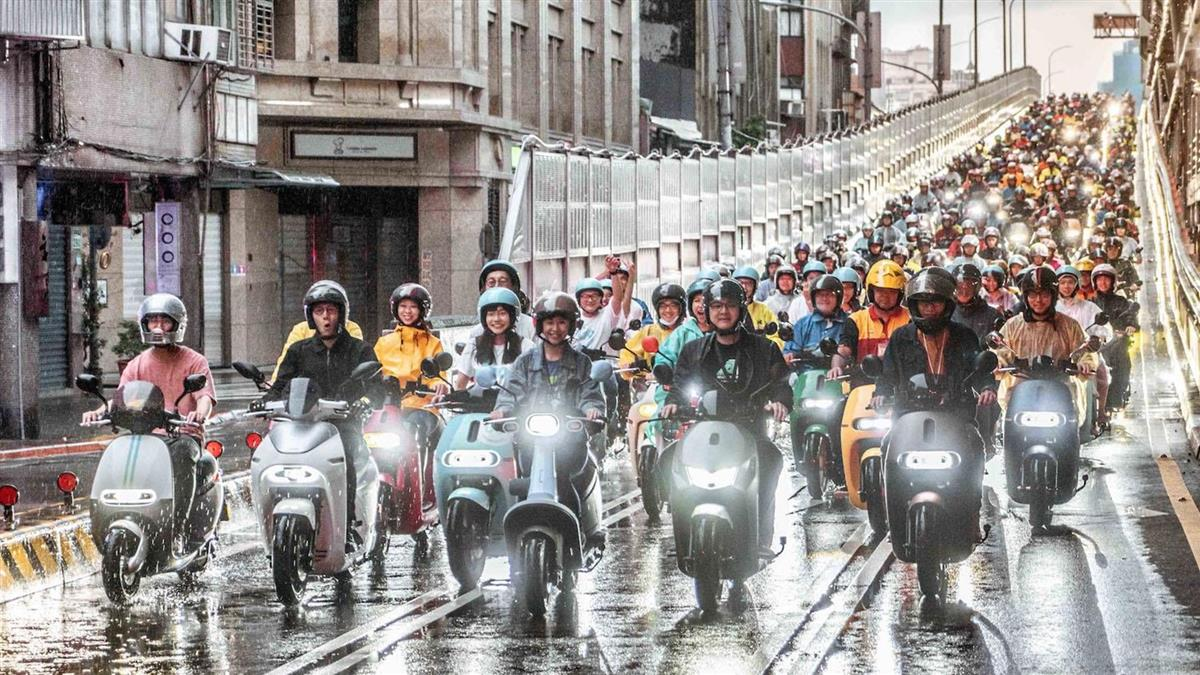 Gogoro11月掛牌初登125cc榜首!24 小時試乘活動年底前還有