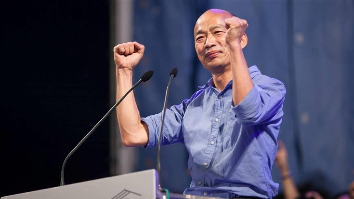 韓國瑜:若當選總統不會離開高雄 不會落跑