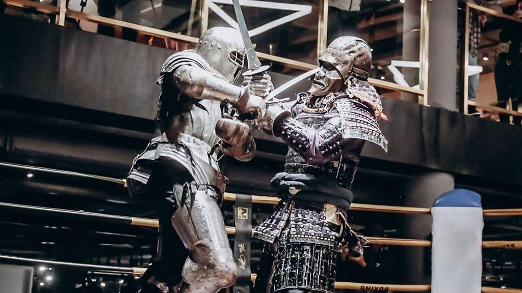 中國全甲格斗:一名幼兒園老師的騎士夢