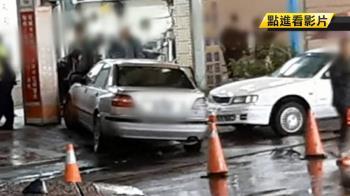 無照酒駕男疑恍神 撞車衝進民宅釀2傷