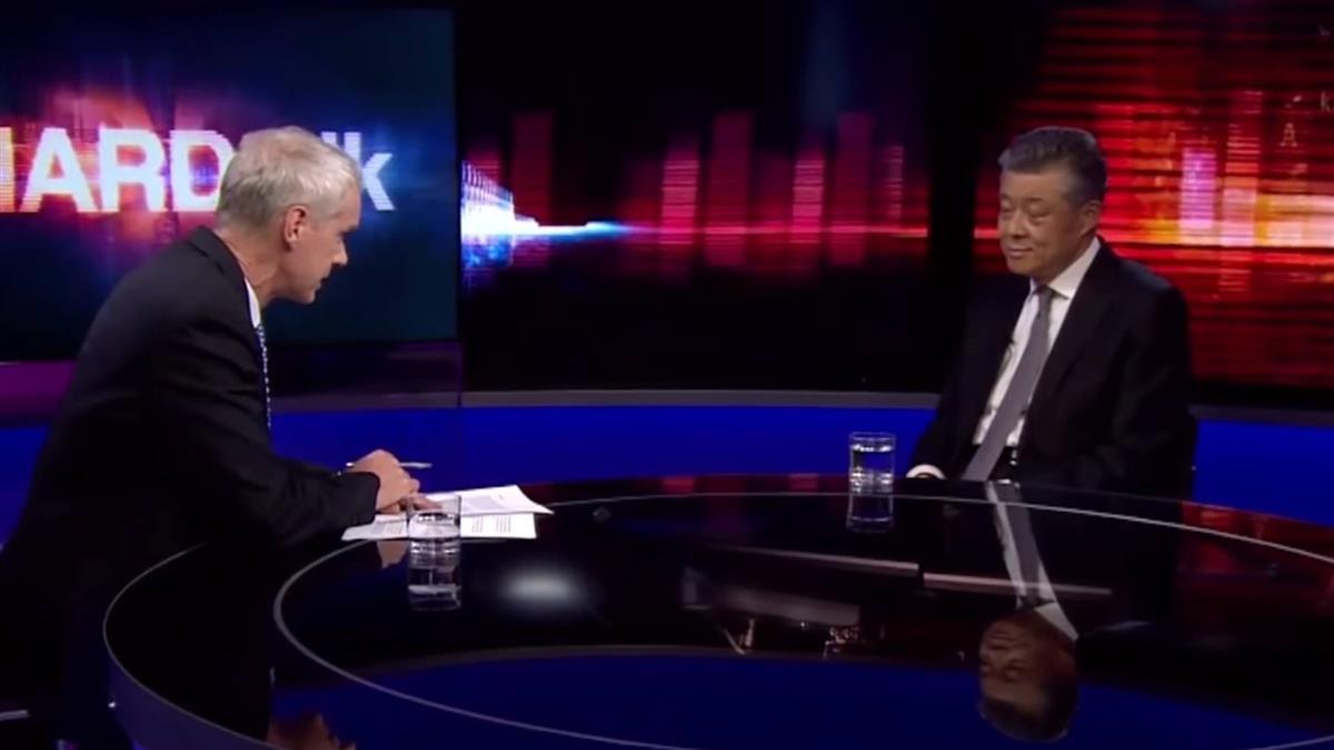 劉曉明:中國沒有政治犯 反問主持有否去過新疆