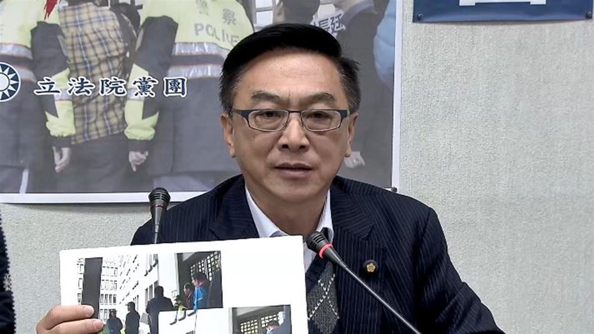 樓梯怒推女警 陳宜民辯:她沒表明身分