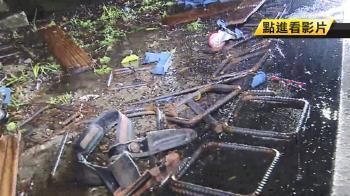 67歲翁雨夜撿回收遭貨車撞飛 命危送醫