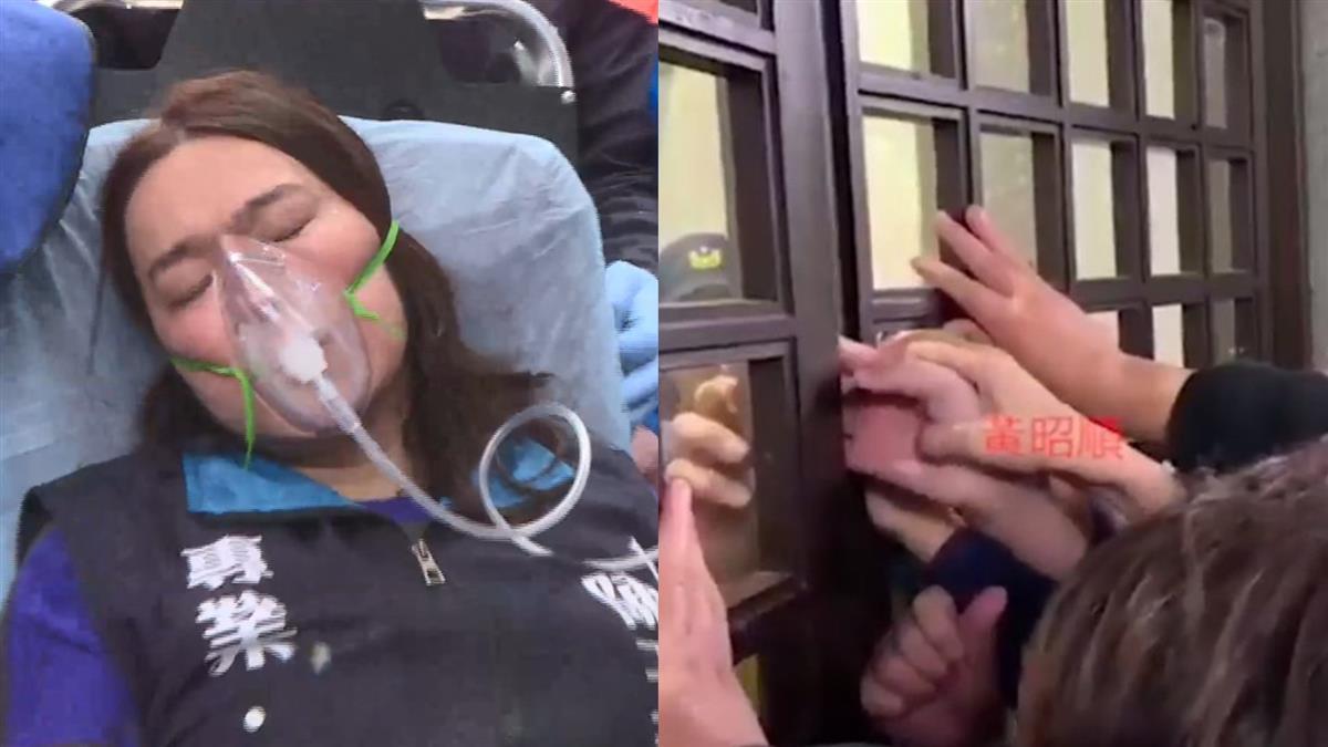 藍委手被夾傷送急診住院 凶手竟是同黨人