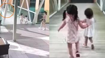 空橋破大洞!母開心錄影 1歲女下秒墜5樓慘死