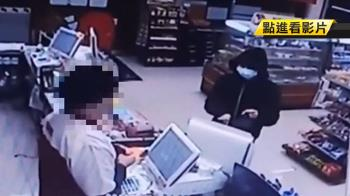 瘦弱男搶3超商碰壁 遭壯店員嗆:真要這樣嗎?
