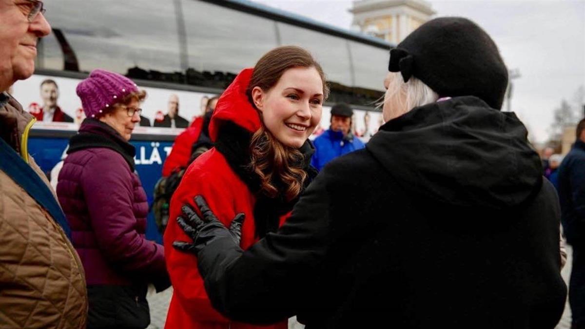 全球最年輕!34歲正妹任芬蘭新總理