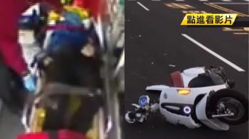 22歲女大生自撞護欄 重擊號誌桿倒血泊亡