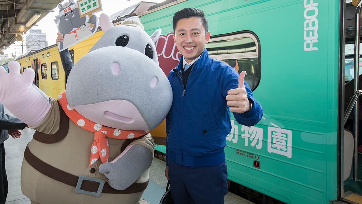 尖叫吧!新竹動物園開幕倒數 台鐵六家線彩繪列車超萌