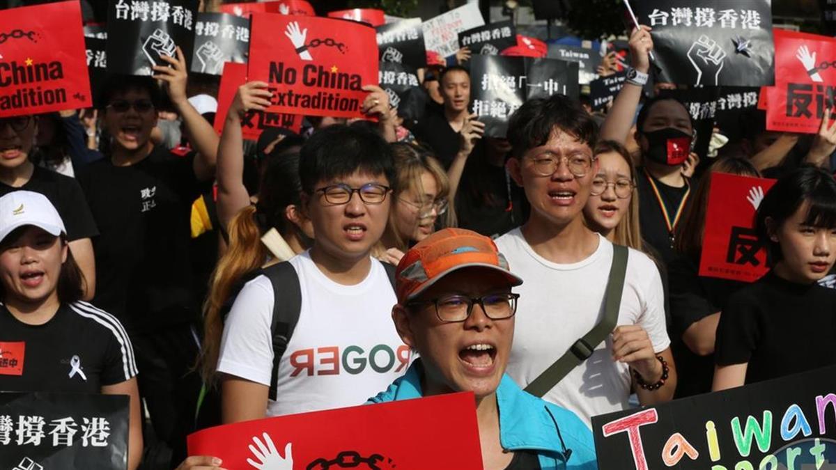 批民進黨利用香港 浸大學生會長道歉