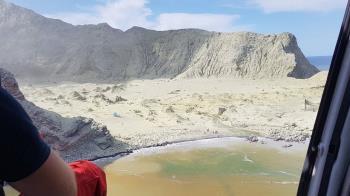 新西蘭火山爆發:旅遊勝地白島5人死亡,島上總人數47人兩人來自大陸