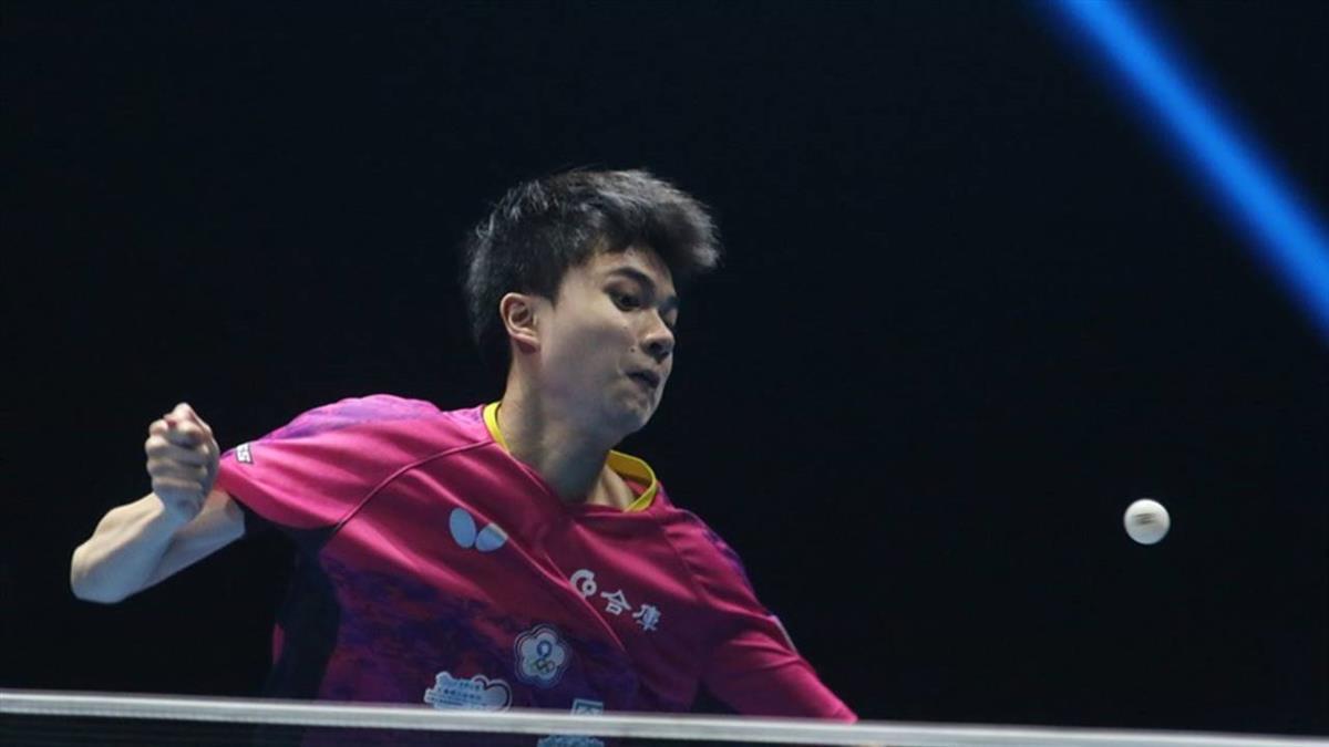 林昀儒單日3勝 桌球年終賽男單直落四過關