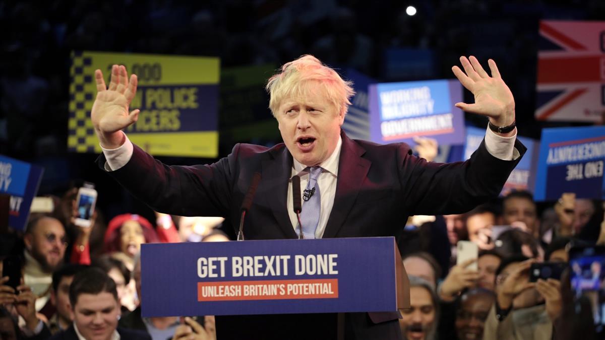 英保守黨可望勝選 強生:人民授權實現脫歐