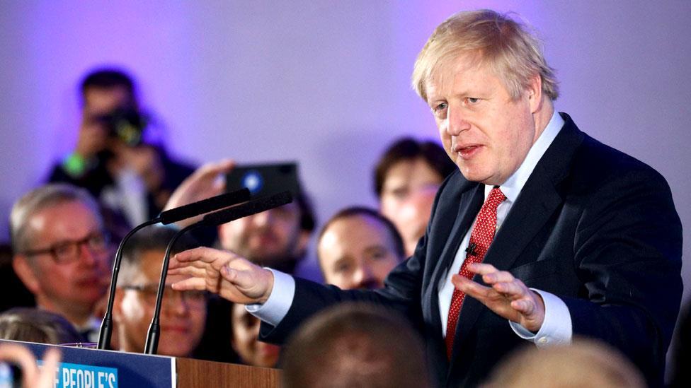 英國大選: 保守黨勝利引發地震 強森面臨機遇和挑戰