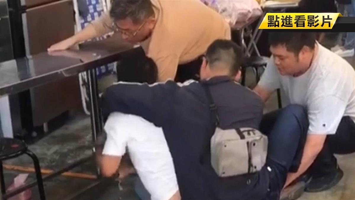 見警心虛拔腿跑 通緝犯市場入口仆街遭逮