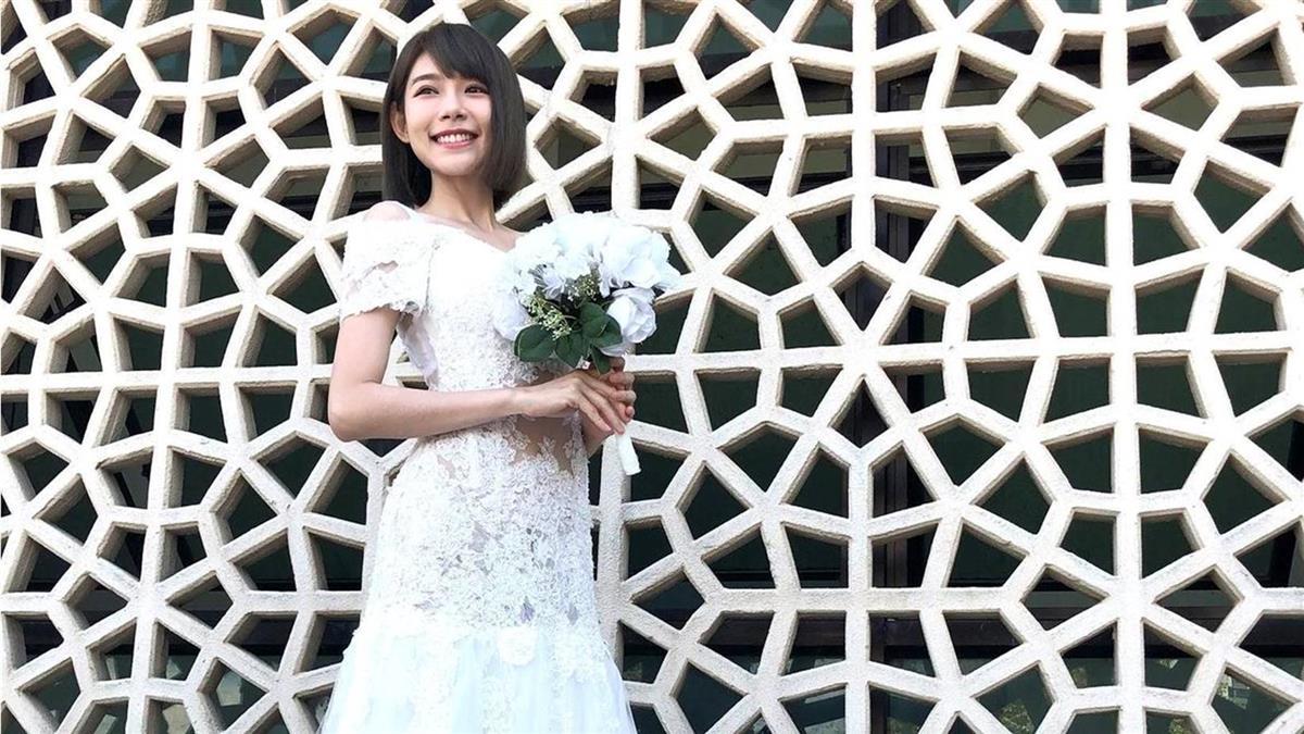 林明禎公開絕美婚紗照 甜喊:可能明天就結婚