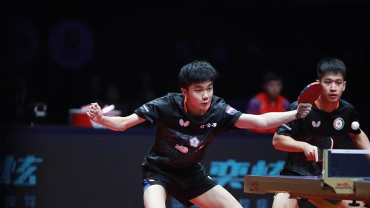 林昀儒廖振珽年終賽奪銀 寫男雙隊史最佳