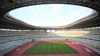 東京奧運主場館21日啟用典禮 天團嵐表演