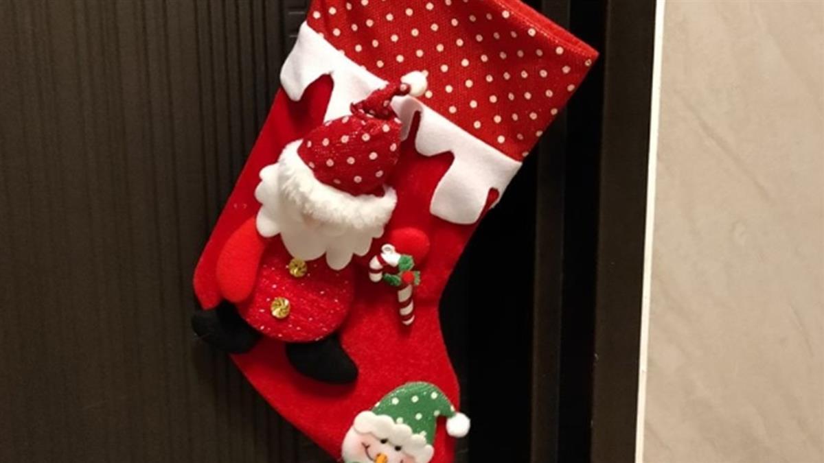 聖誕襪掛門口 人妻收鄰居神秘禮暖哭