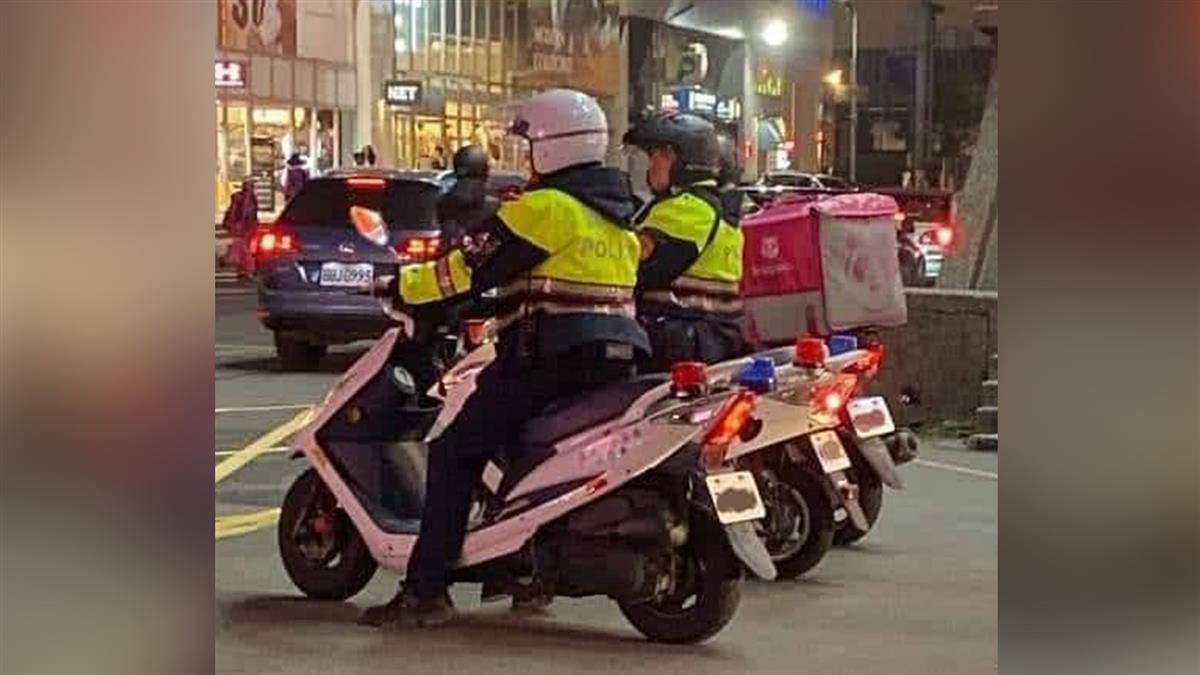 警察兼職熊貓賺外快?遭抓包:要罰900元