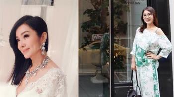63歲陳美鳳穿絕美婚紗 大方向店員認再婚