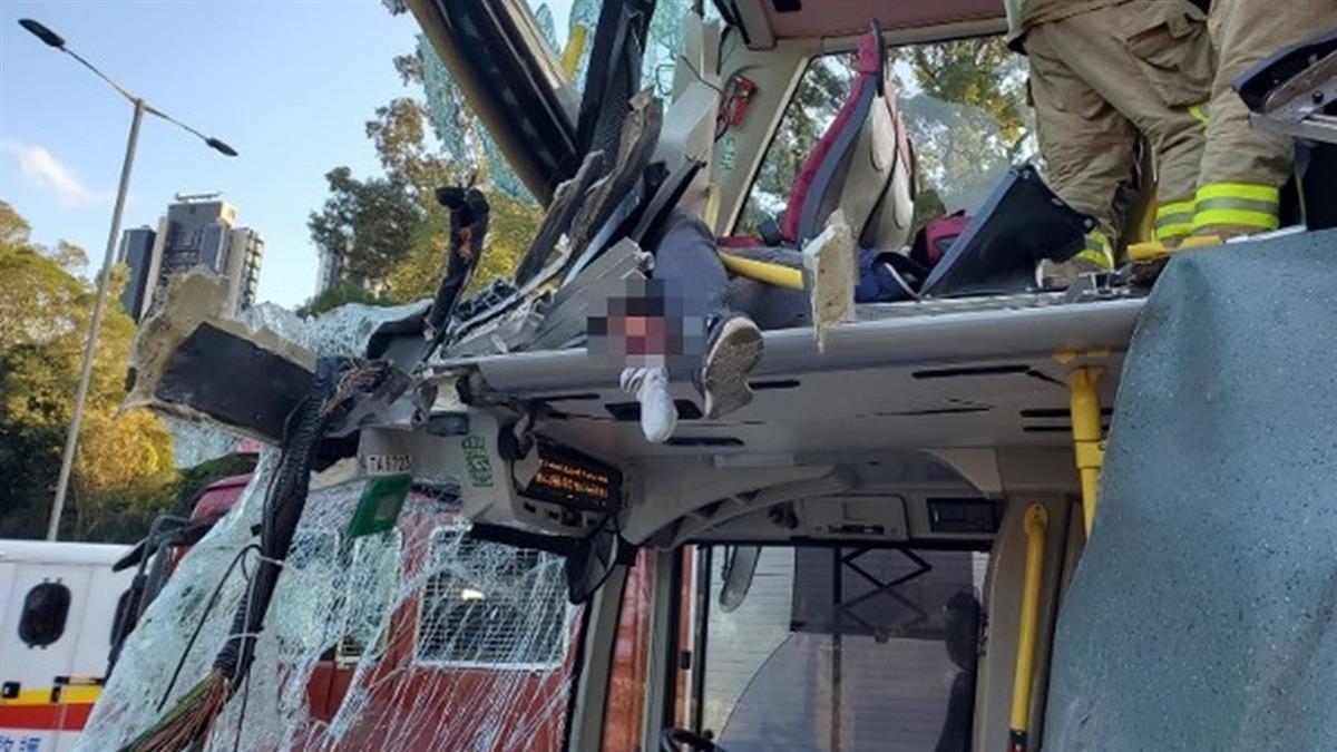 港巴士傳嚴重車禍!至少6死30多人輕重傷