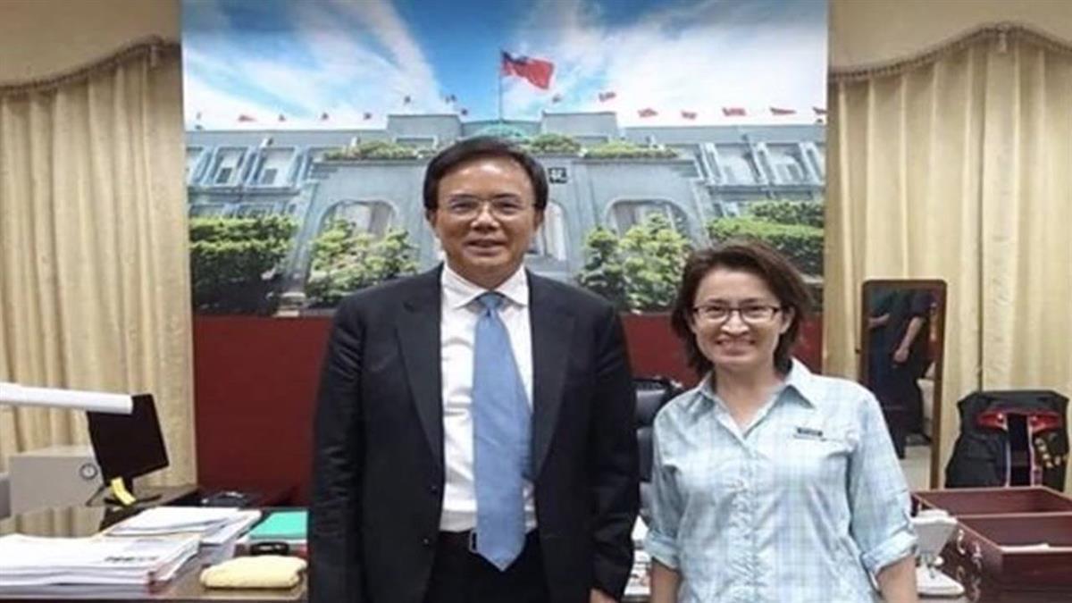 蔡碧仲臉書公開助選蕭美琴 火速刪文仍引爭議