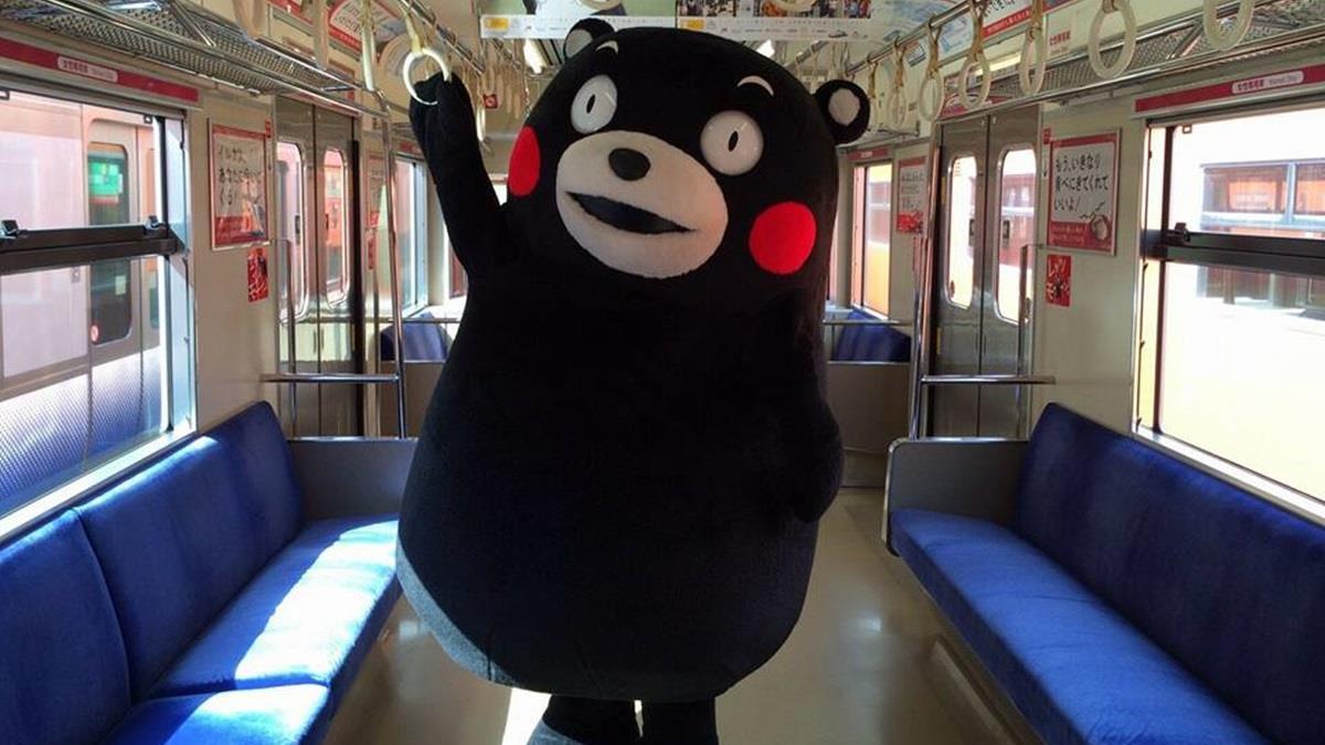 熊本熊想傳遞奧運聖火卻遭拒!被拒理由網笑翻
