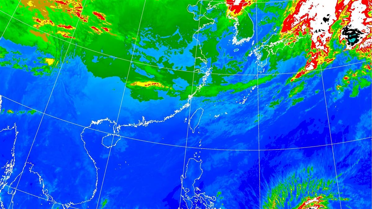 颱風帶水氣!本周這天變天降雨 低溫下探15度