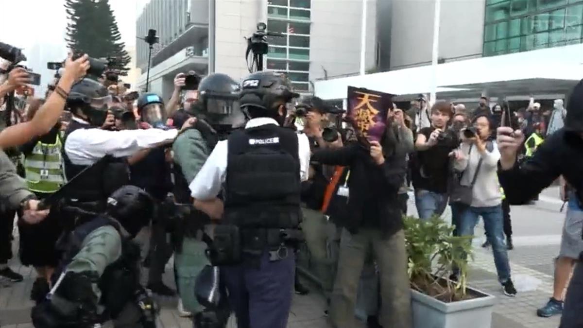 港人集會聲援維吾爾人 憂今日新疆明日香港
