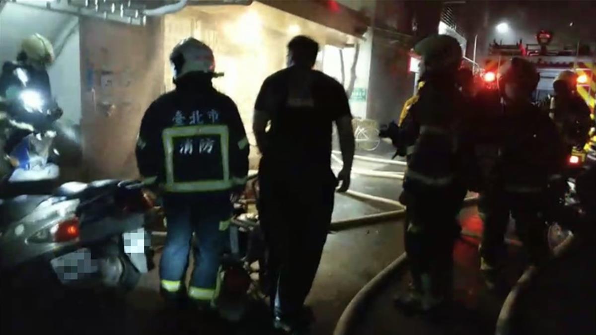 北市公寓清晨火災 5旬婦被燒焦喪命